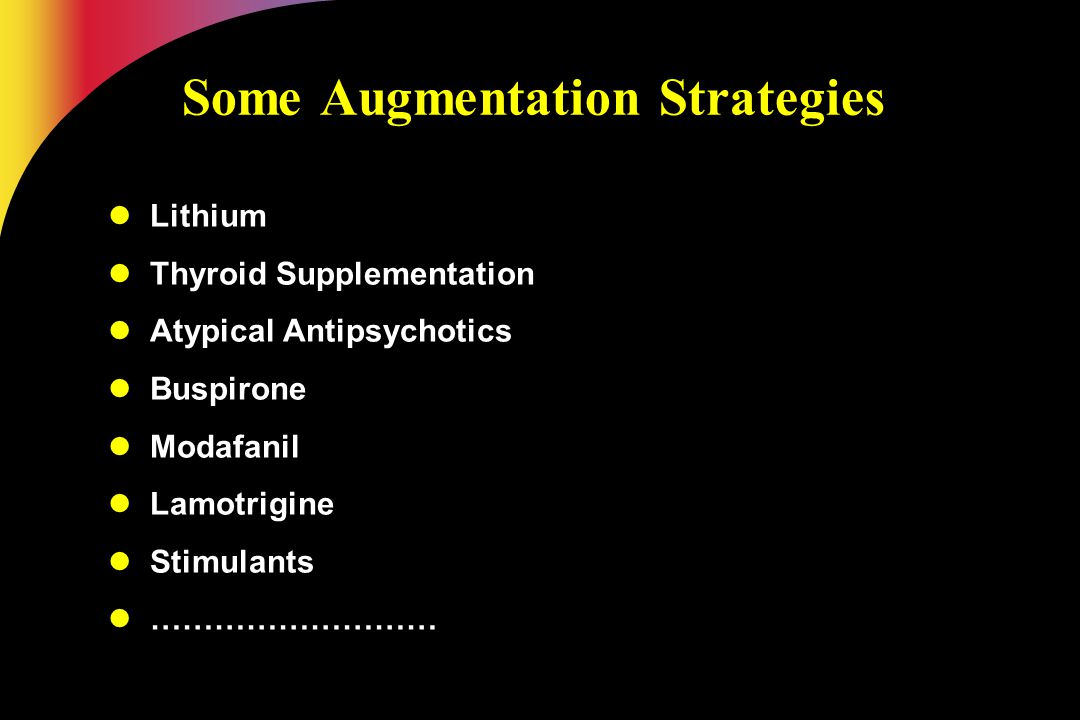 Some Augmentation Strategies