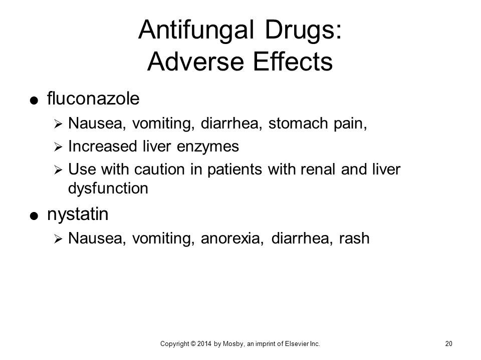 Antifungal Drugs: Adverse Effects