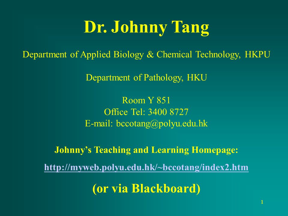 Johnny's Teaching and Learning Homepage: