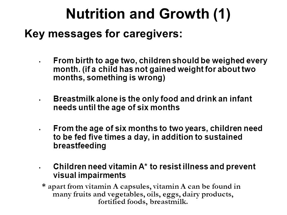 Nutrition and Growth (1)