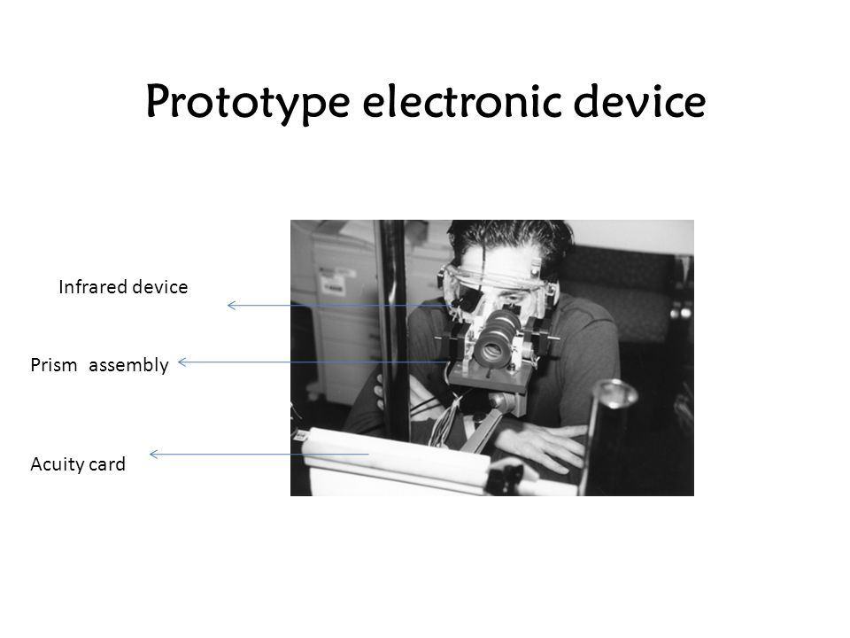 Prototype electronic device