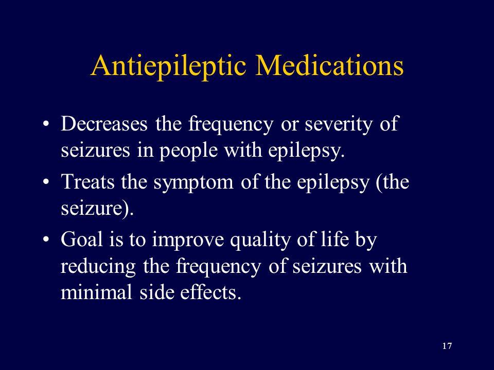 Antiepileptic Medications