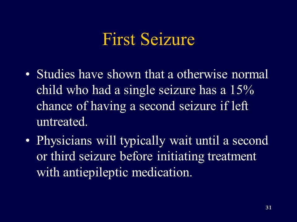 First Seizure