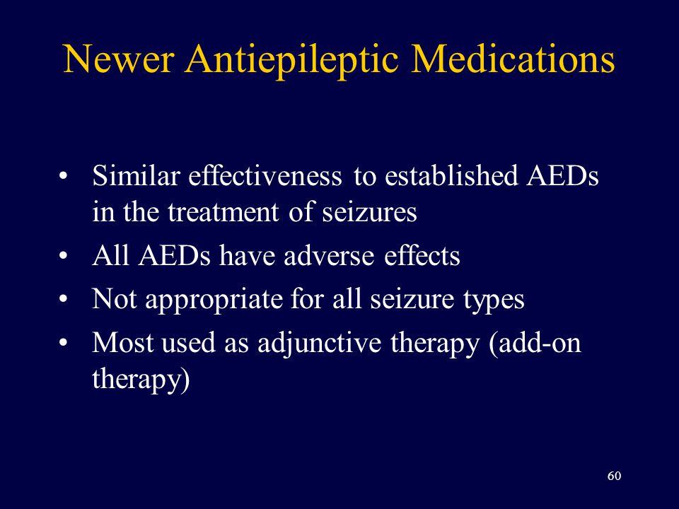 Newer Antiepileptic Medications