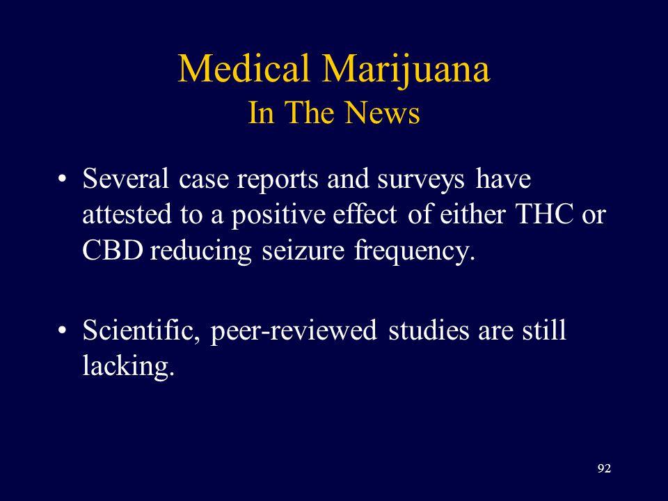 Medical Marijuana In The News