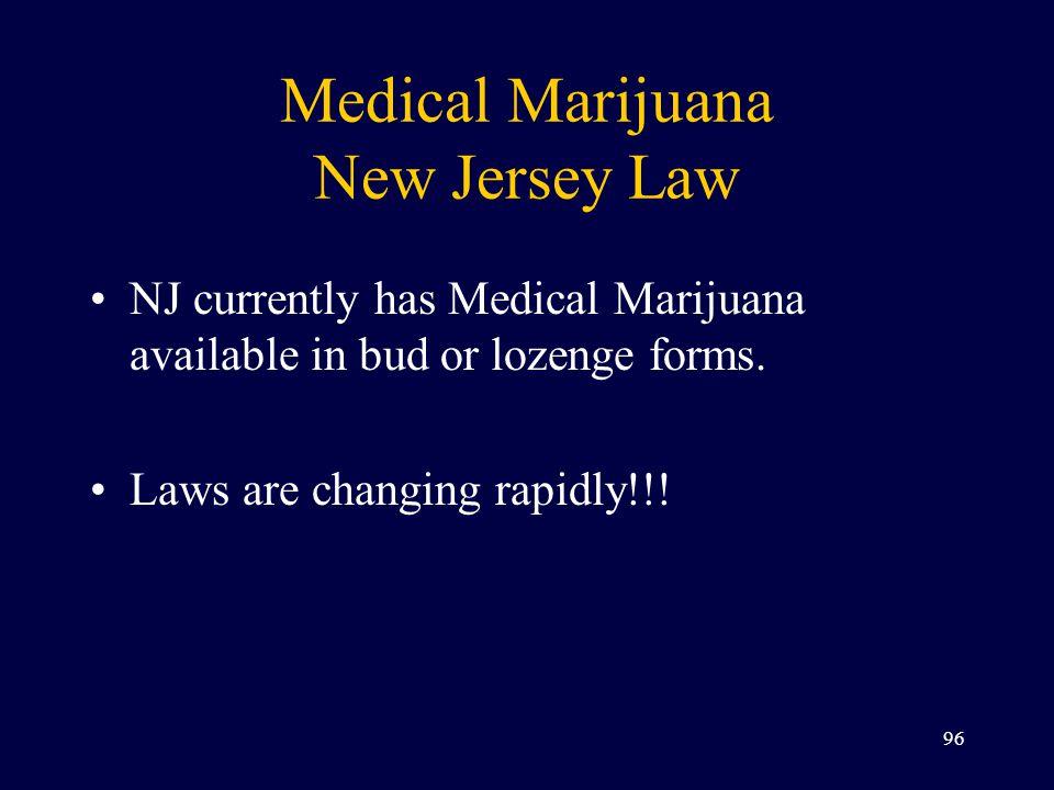 Medical Marijuana New Jersey Law