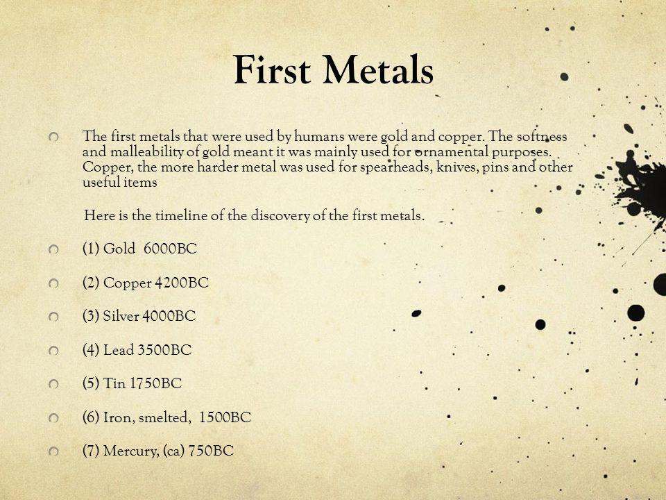First Metals