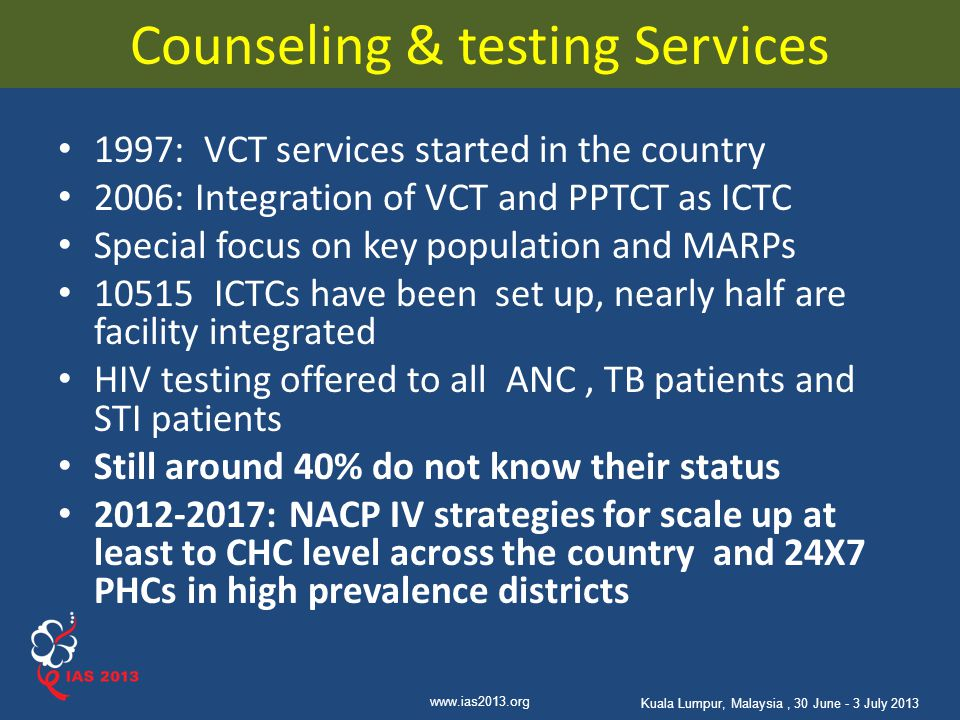 Counseling & testing Services