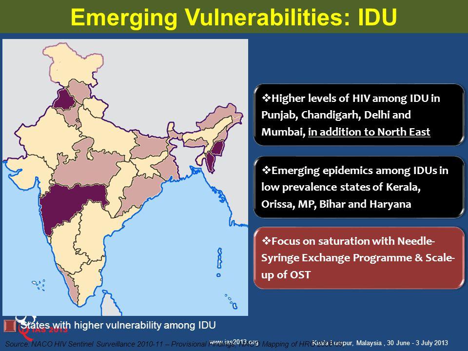 Emerging Vulnerabilities: IDU