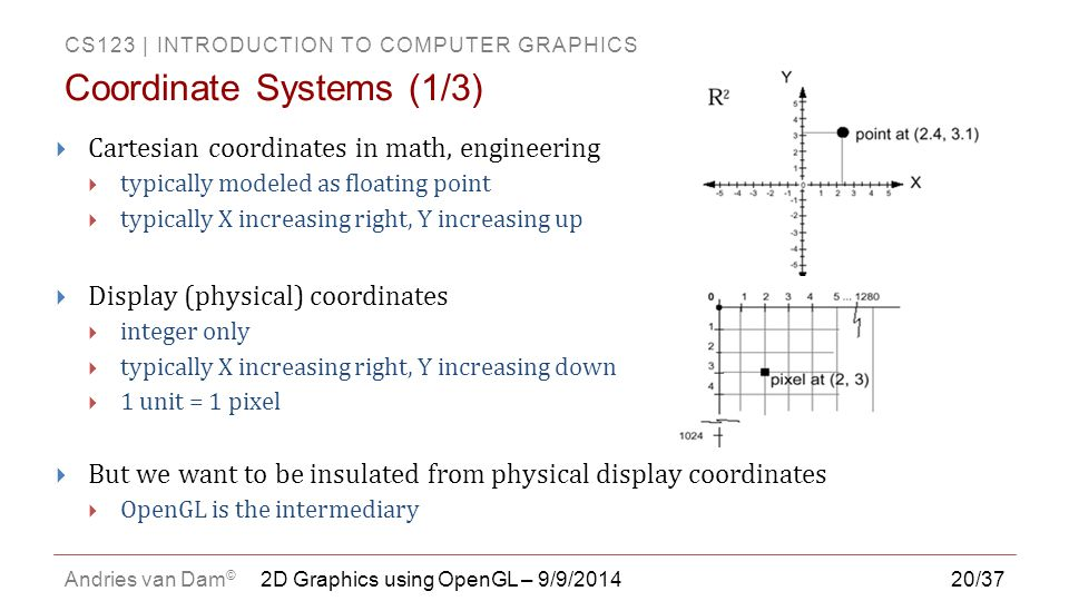 Coordinate Systems (1/3)