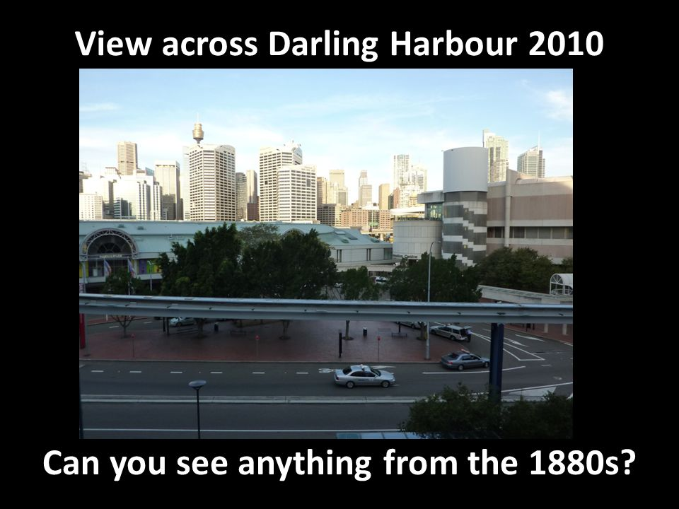 View across Darling Harbour 2010