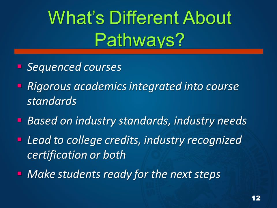 What's Different About Pathways