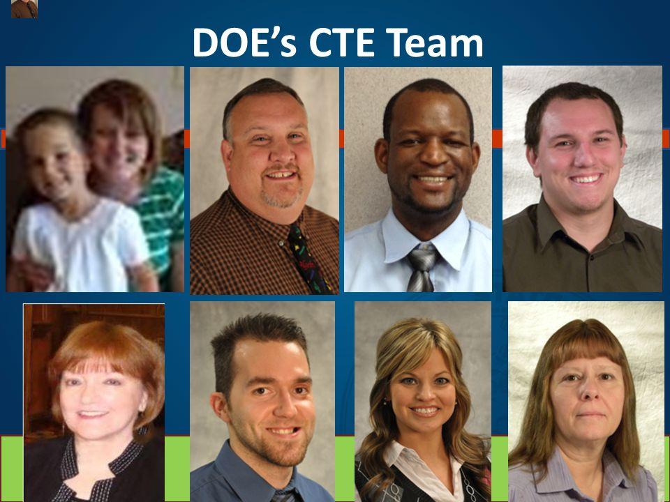 DOE's CTE Team