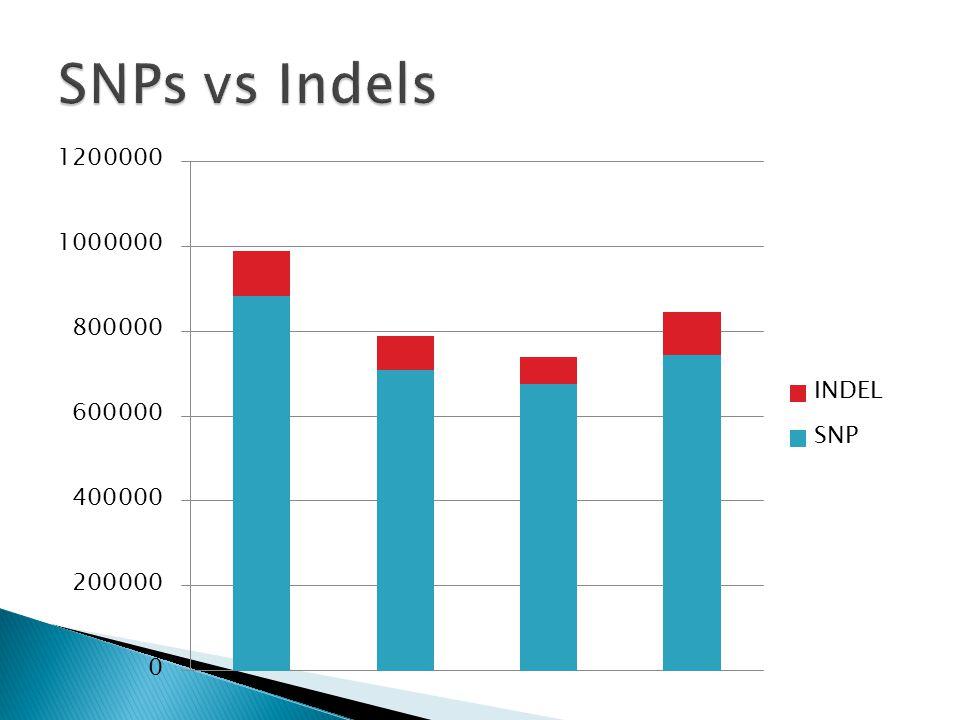SNPs vs Indels