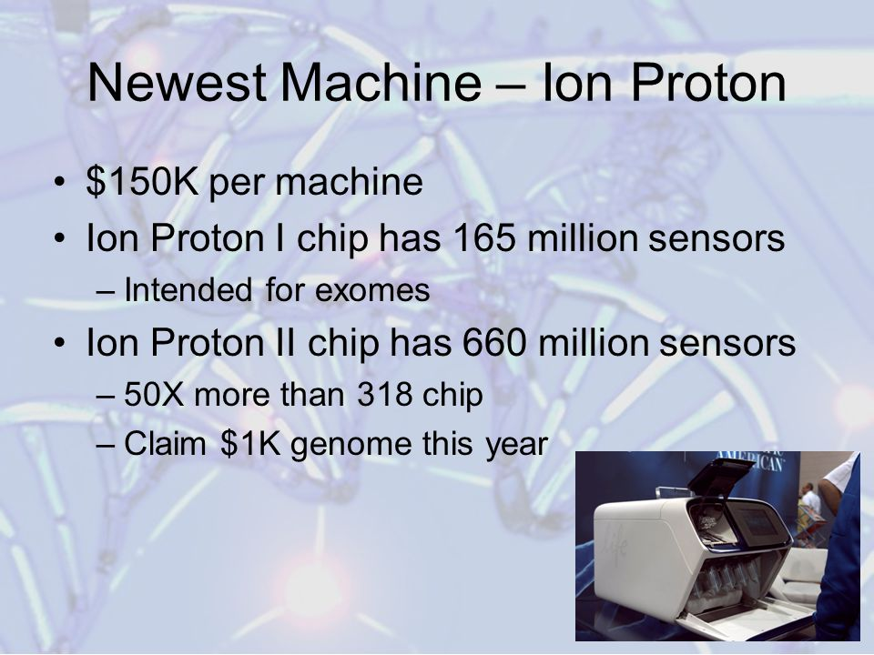Newest Machine – Ion Proton