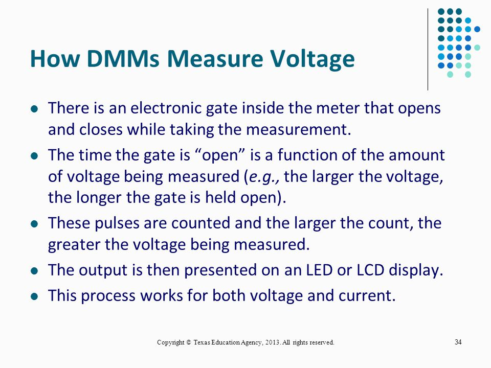 How DMMs Measure Voltage