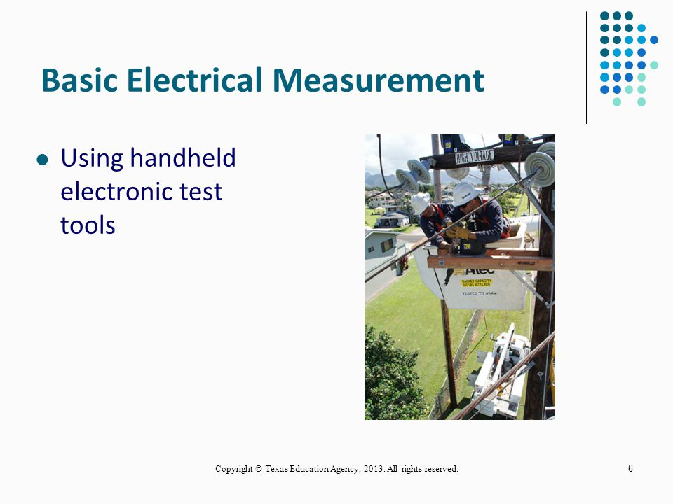 Basic Electrical Measurement