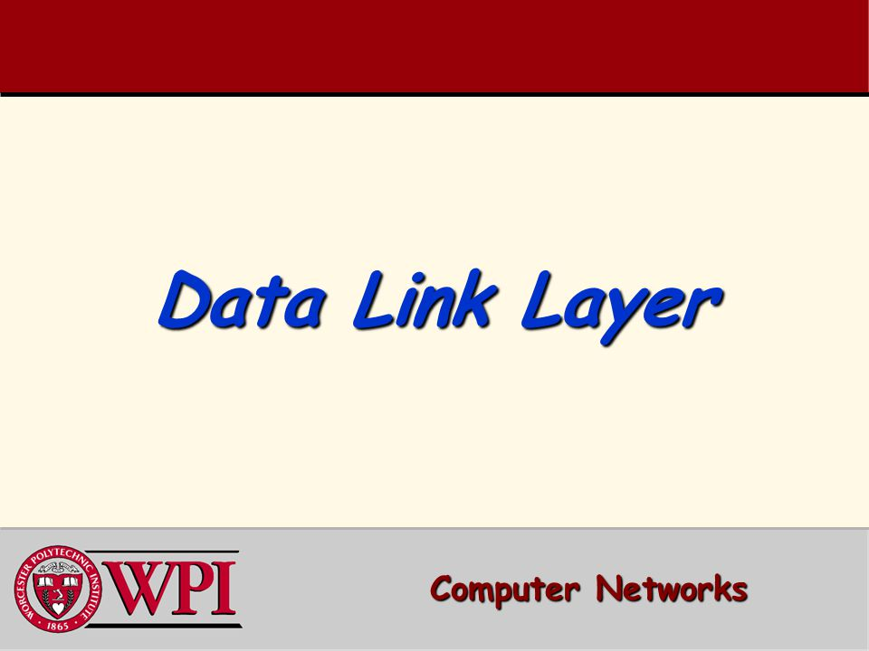 data link layer computer networks