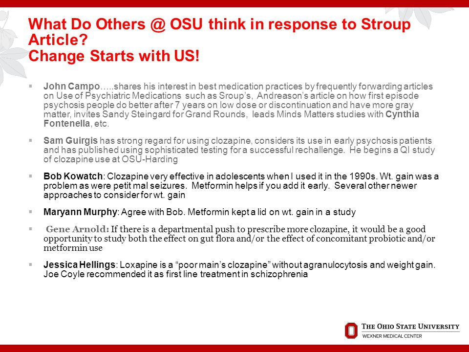 What Do Others @ OSU think in response to Stroup Article
