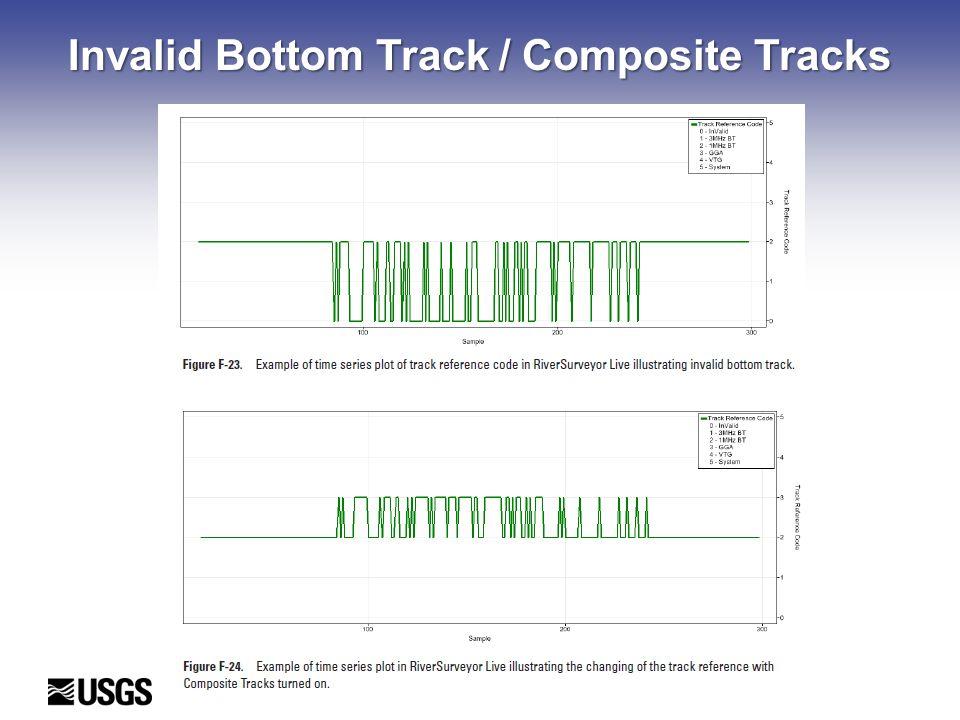 Invalid Bottom Track / Composite Tracks