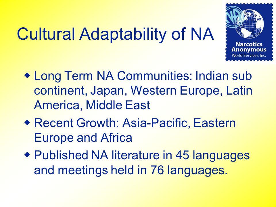 Cultural Adaptability of NA