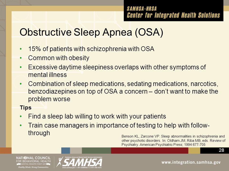 Obstructive Sleep Apnea (OSA)