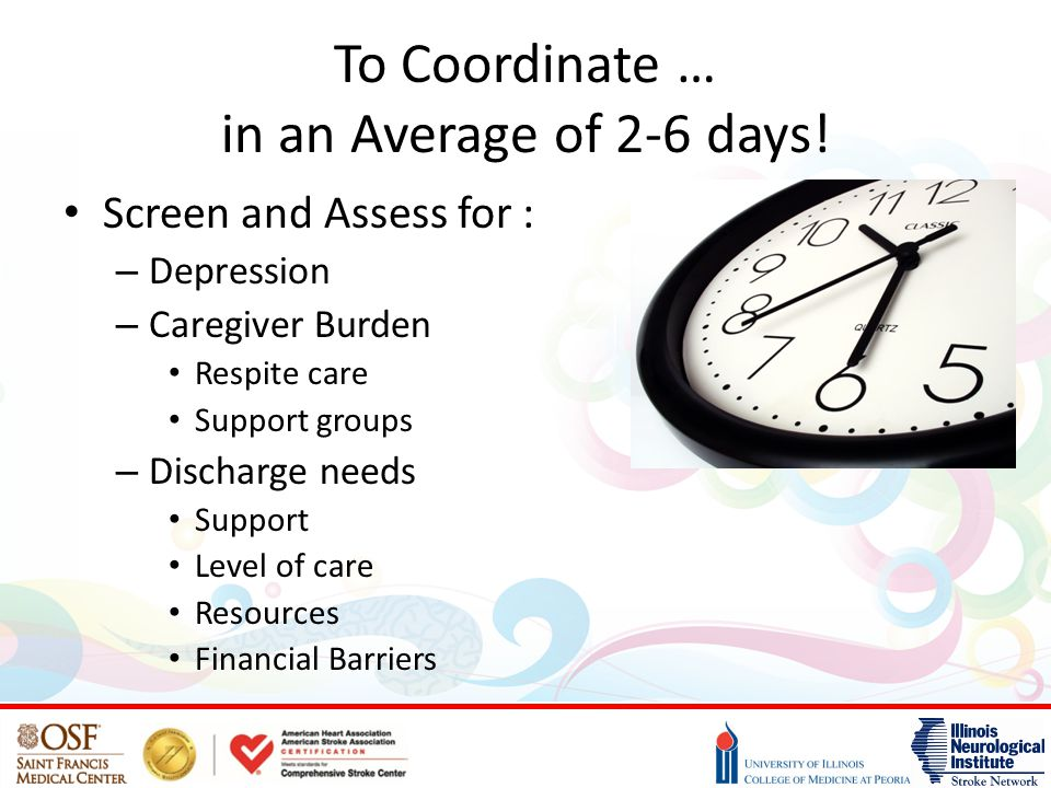 To Coordinate … in an Average of 2-6 days!