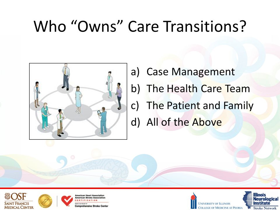 Who Owns Care Transitions