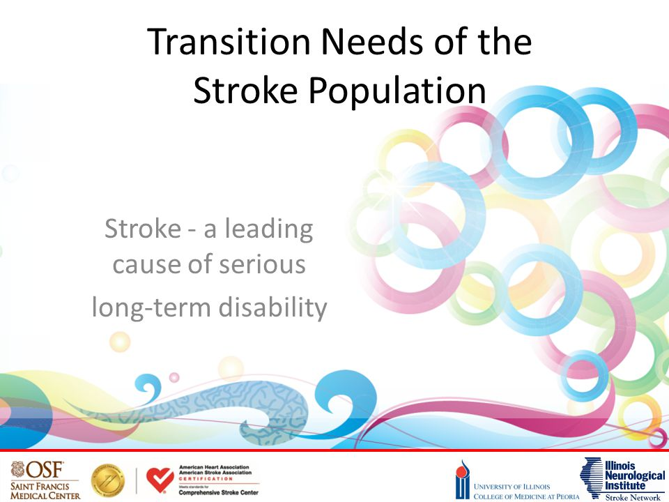 Transition Needs of the Stroke Population