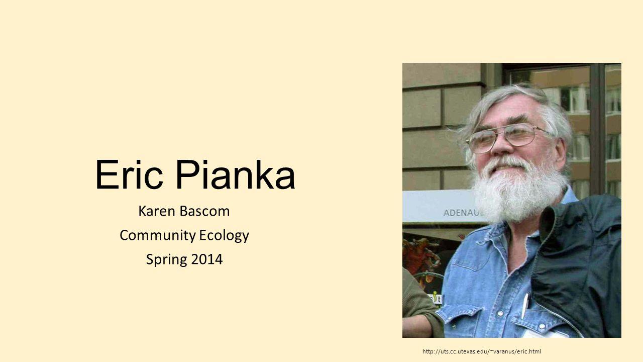 Karen Bascom Community Ecology Spring 2014