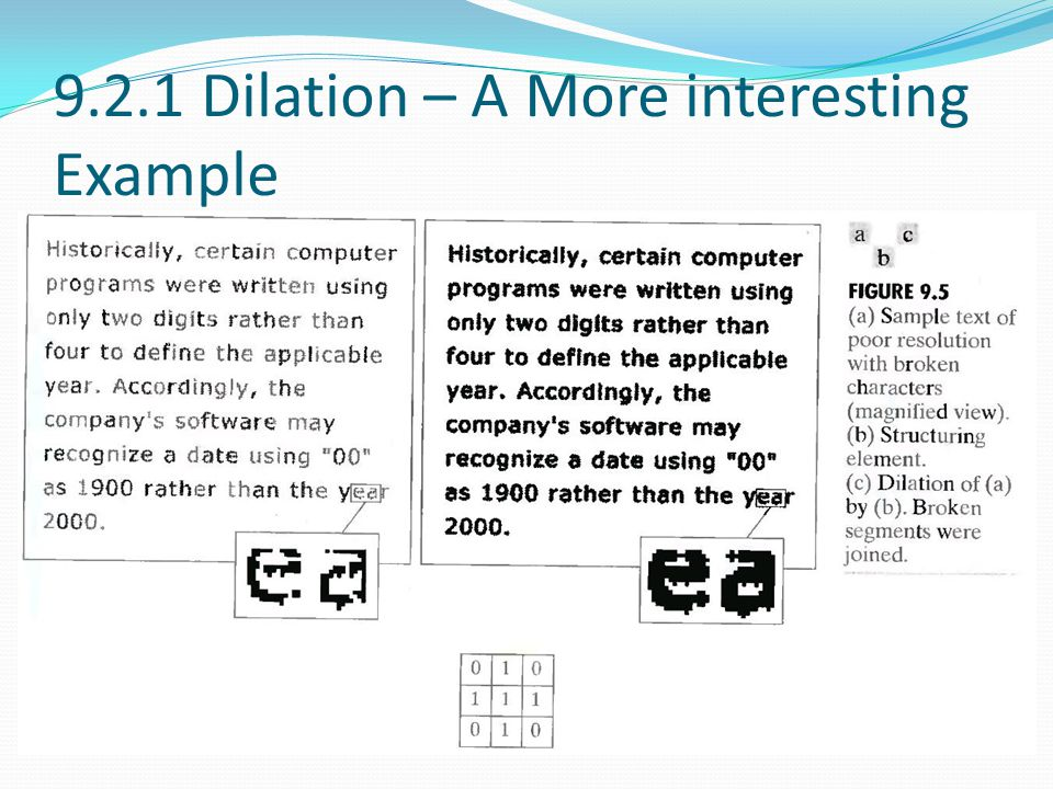 9.2.1 Dilation – A More interesting Example