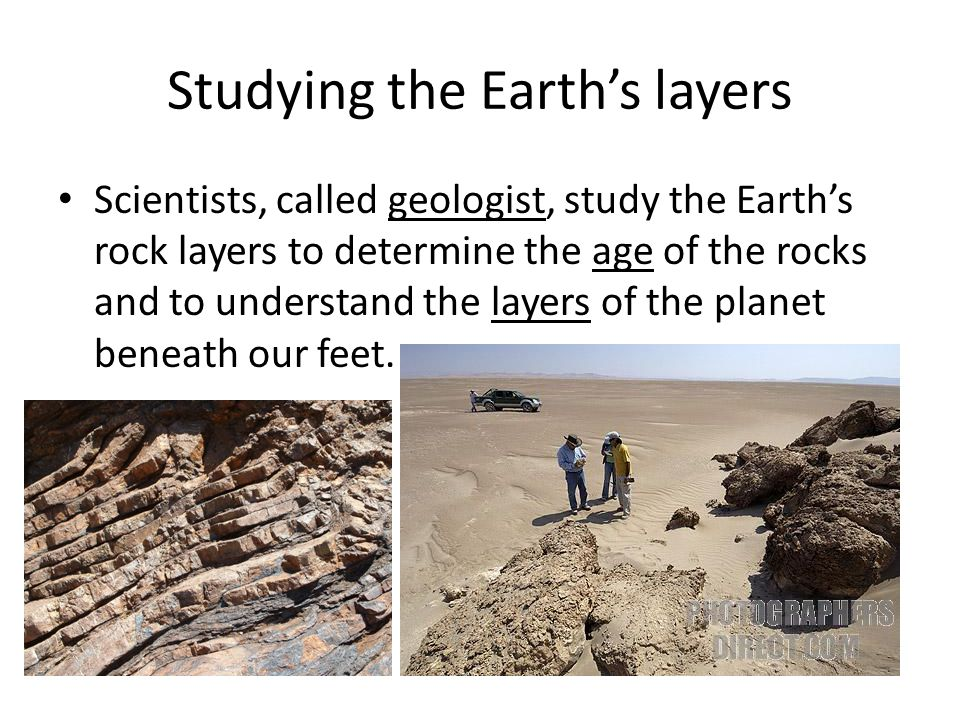 Studying the Earth's layers