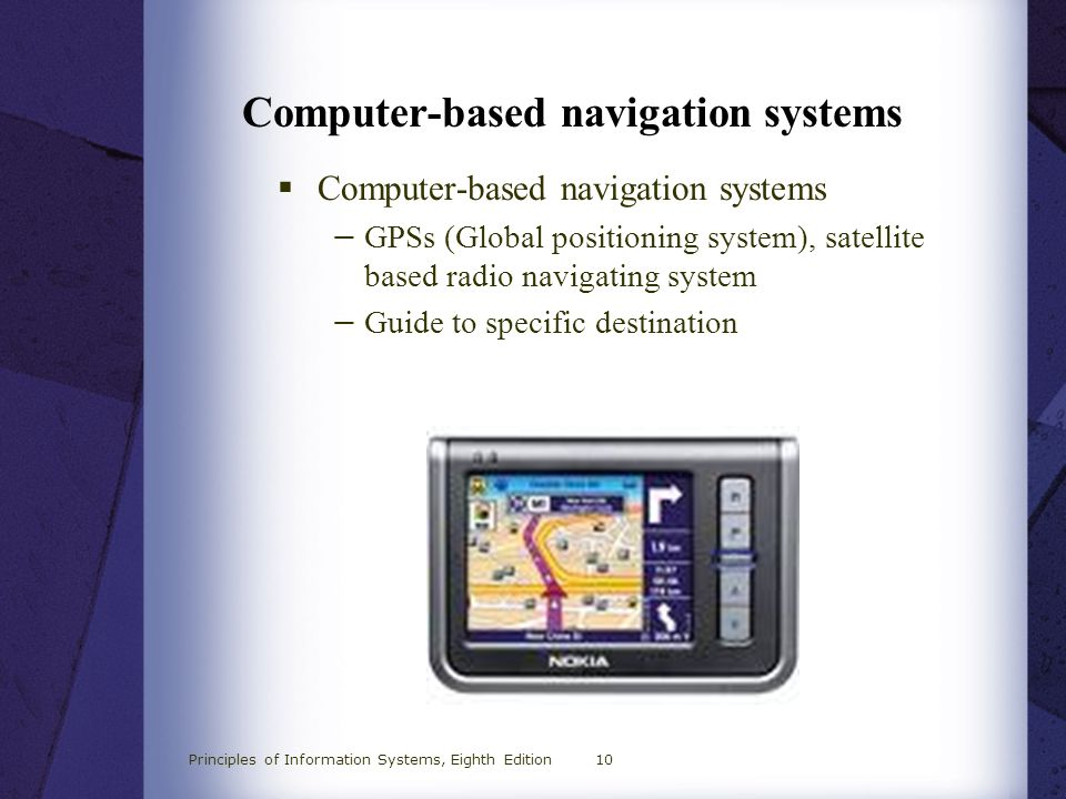 Computer-based navigation systems