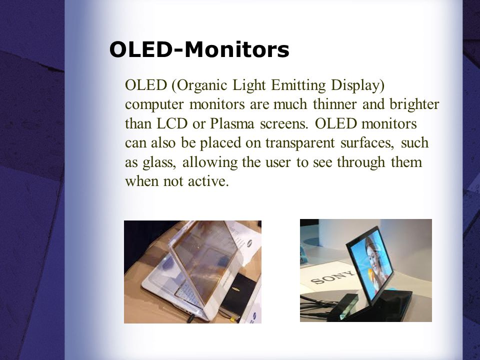 OLED-Monitors