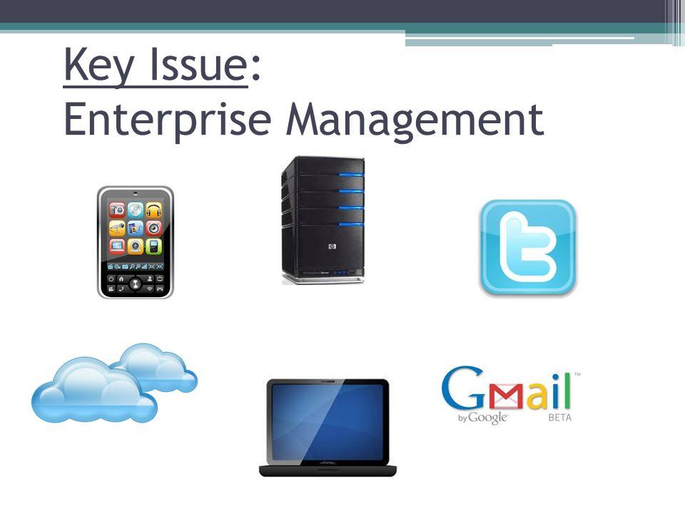 Key Issue: Enterprise Management
