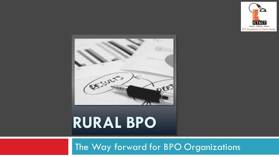 The Way forward for BPO Organizations