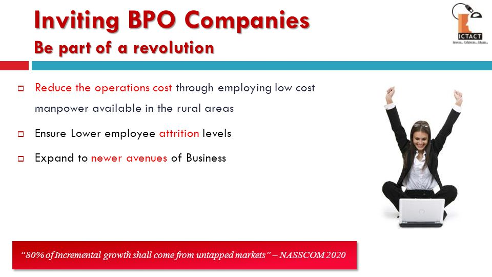 Inviting BPO Companies Be part of a revolution