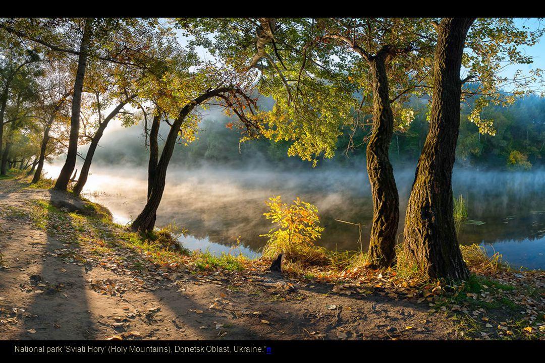 National park 'Sviati Hory' (Holy Mountains), Donetsk Oblast, Ukraine
