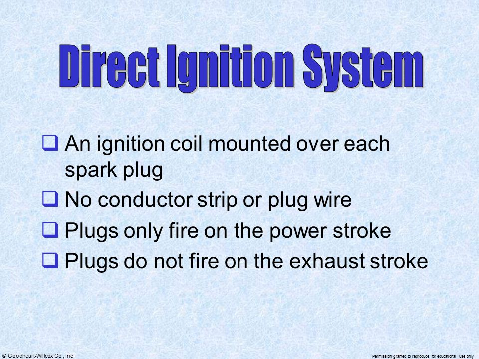 Direct Ignition System