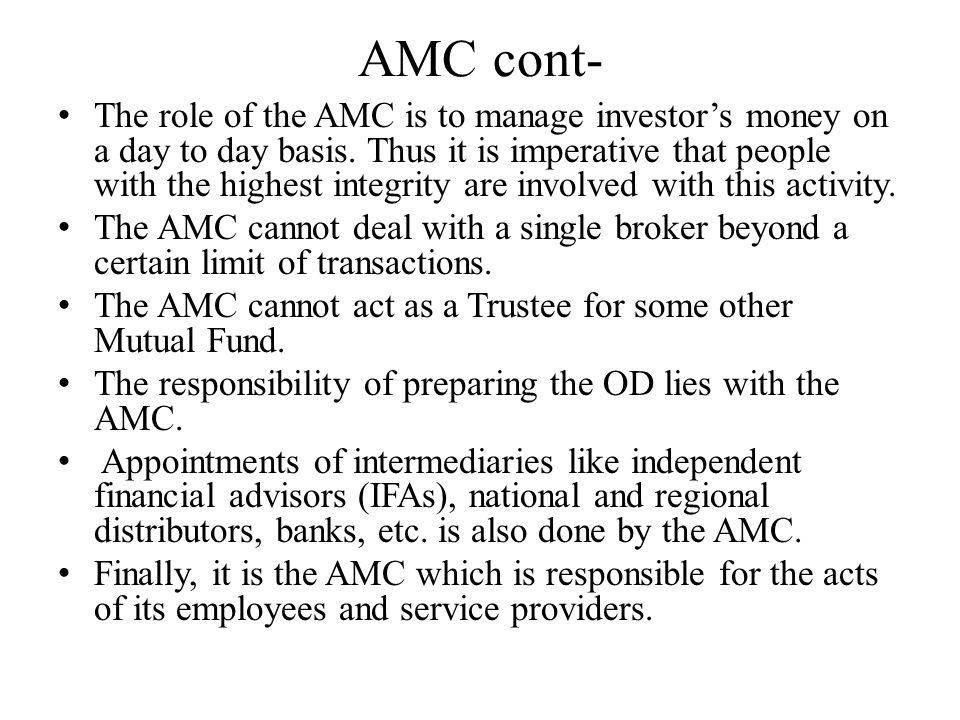 AMC cont-