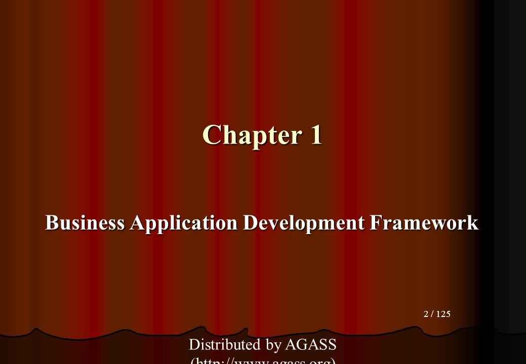 Business Application Development Framework