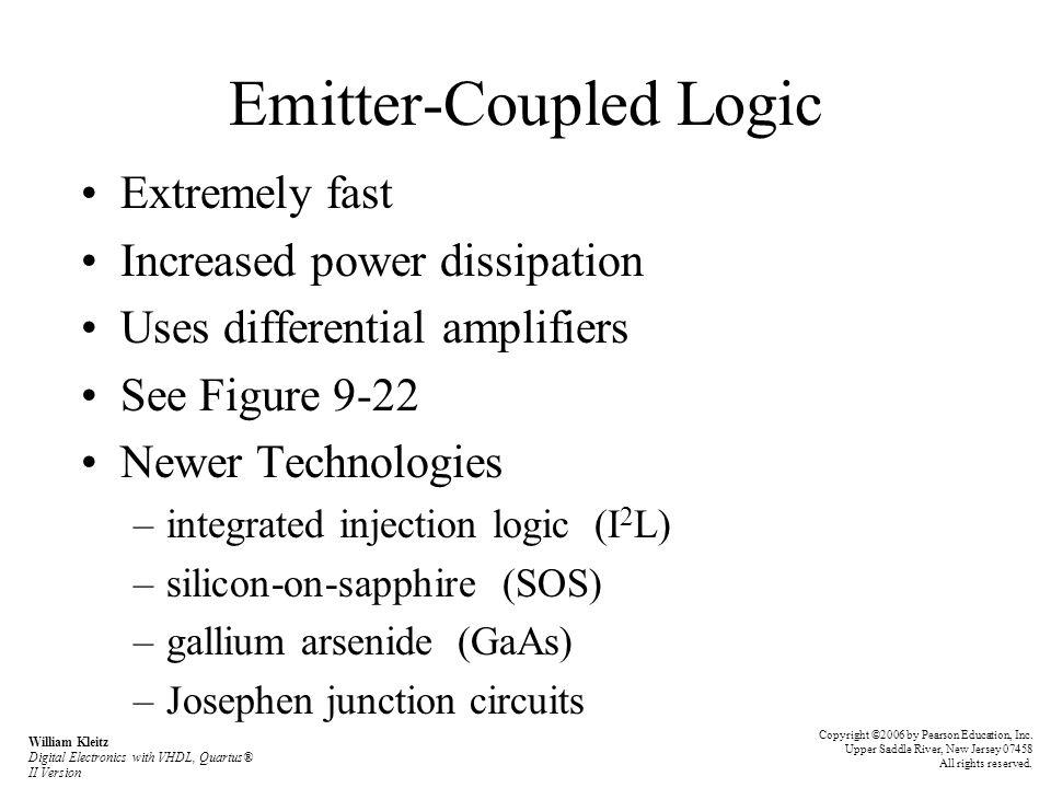 Emitter-Coupled Logic