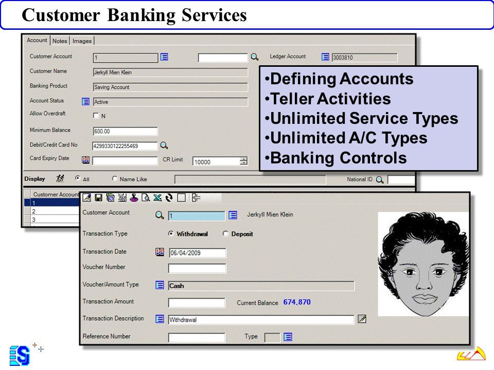 Customer Banking Services
