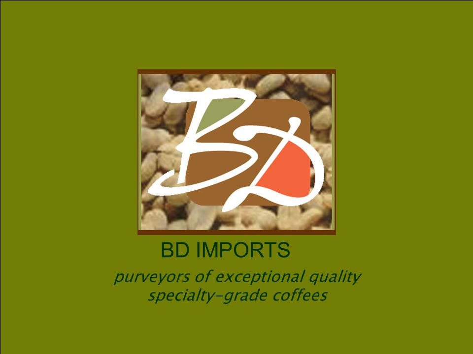purveyors of exceptional quality specialty-grade coffees