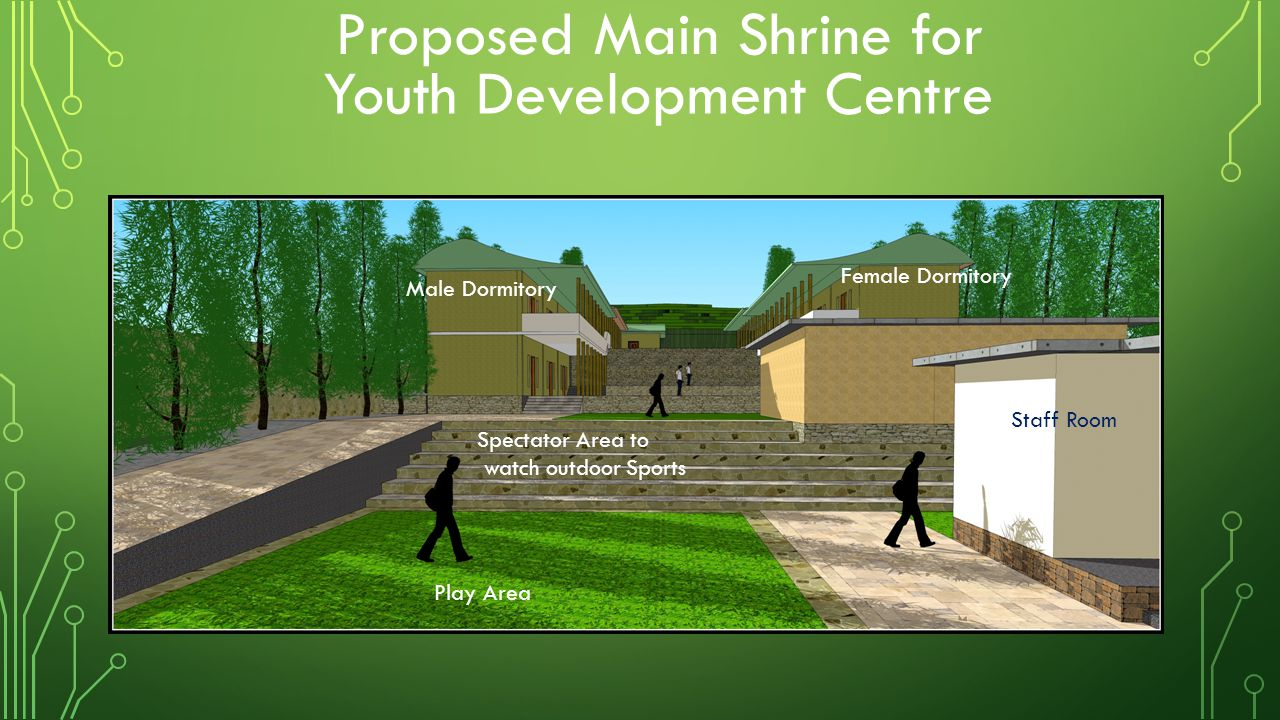 Proposed Main Shrine for Youth Development Centre