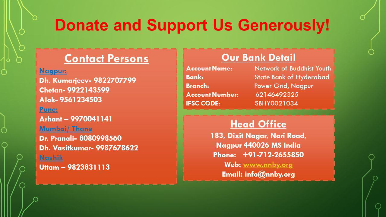 Donate and Support Us Generously!