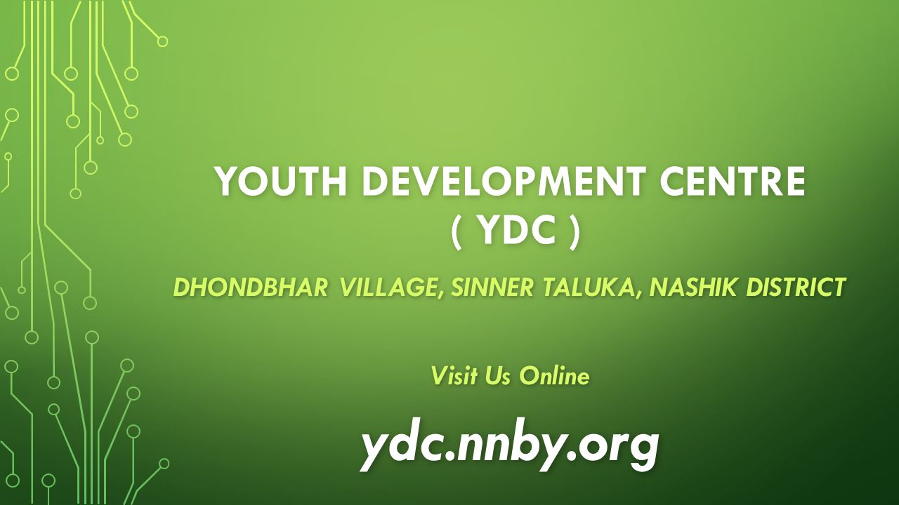 YOUTH DEVELOPMENT CENTRE ( Ydc )