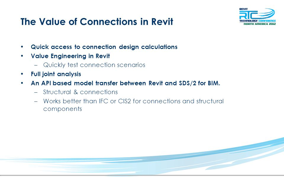The Value of Connections in Revit