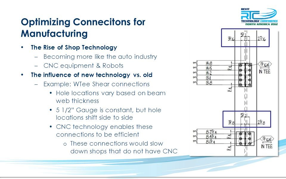 Optimizing Connecitons for Manufacturing