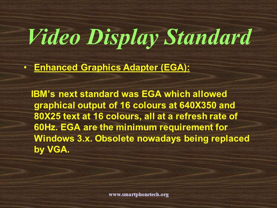 Video Display Standard